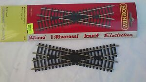 Hornby-Railways-R614-Left-Hand-Crossing-Track-00-HO-Scale