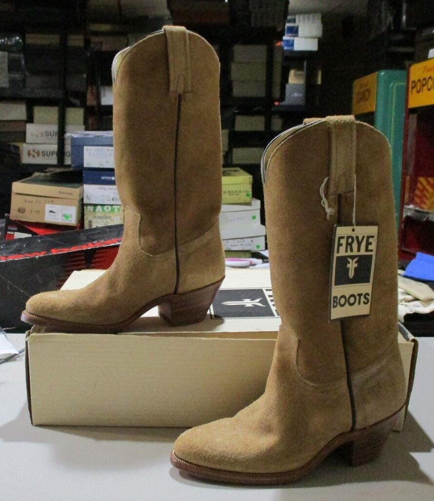 New New New Frye #2352F 7.5 D desert sueded leather (470B) df1945