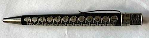 Retro 51 Rollerball // Pen Etched. TYPEWRITER BLACK Ltd Ed of 250
