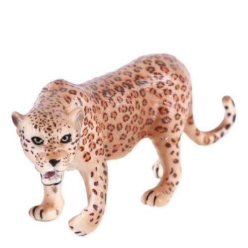 Plastic Animal Figure Model Kids Toy Leopard Children Educational Toys Gift FI