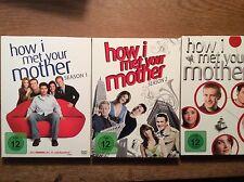 How I Met Your Mother - Season Staffel 1 + 2 + 3   [ 9 DVD ]