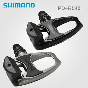 SHIMANO PD-R540 Road Bike Pedals Clipless Pedals With Floating Cleats
