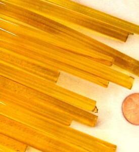 1lb-Devardi-Glass-Rods-Lampwork-COE-104-Tr-Yellow-Gold