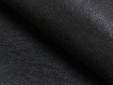 % SCHWARZ FILZSTOFF STABIL 4MM TASCHE, BASTELN -100CM STOFF STOFFE |DBA8