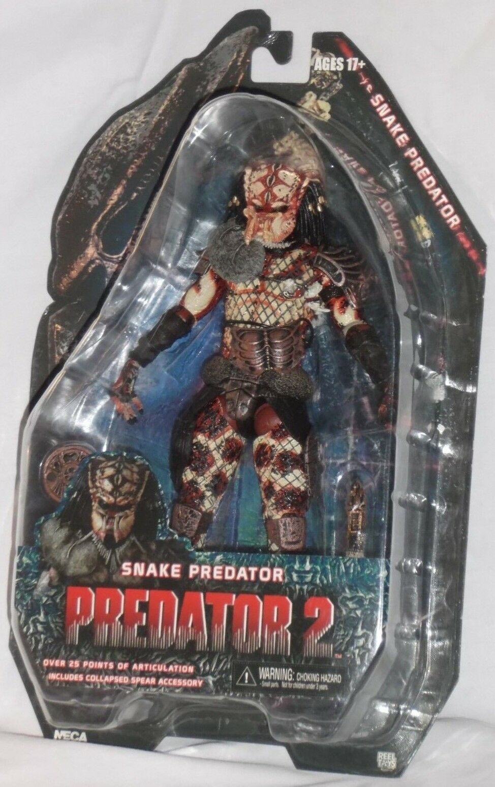 MISP NECA PROTATOR 2 Series 5 SNAKE cult ALIEN horror movie 7