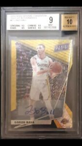 2017-18-Panini-National-Gold-VIP-BGS-9-10-Lonzo-Ball-Auto-4-5