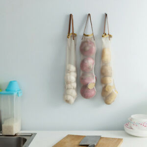 Garbage-Bags-Kitchen-Storage-Bag-Wall-Hanging-Vegetables-Packing-Pouch-Mesh