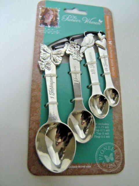 The Pioneer Woman Cowboy Rustic Metal Figural Measuring Spoons