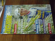 8ùµ? Revue Cyclisme International n°101 Guide complet saison 1994 De Las Cuevas