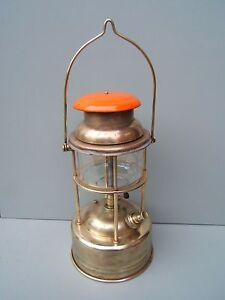 Tilley-lamp-X246-all-brass-cage-not-steel-nice-condition-TL26