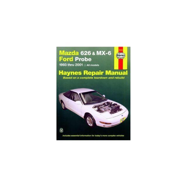 haynes workshop manual mazda 626 mx6 and ford probe ebay rh ebay co uk Haynes Repair Manual Online View Haynes Repair Manual Online View