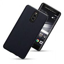 Huawei Mate 9 Porche Design High Impact Flexible Case Flexible Gel Black Matte