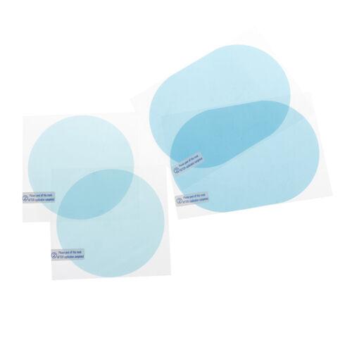 Car rain mirror protective film anti fog membrane anti-glare waterproof gx