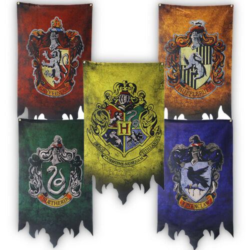 70x120 Harry Potter House Banner Flag Hufflepuff  Gryffindor Slytherin Ravenclaw