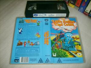 THE-LITTLE-ENGINE-THAT-COULD-Rare-1991-Australian-Rainbow-Products-VHS-Issue