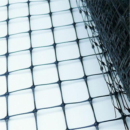 Libération Stylo Filet Large 100 m Plastique Noir faisan cerf Filet 50 mm SQ Mesh