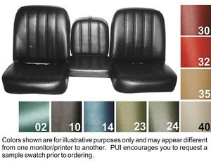 Magnificent Details About 1967 68 Chevy Truck Seat Covers Buckets Or Bench Pui Uwap Interior Chair Design Uwaporg