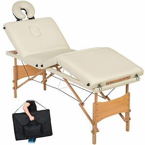 Table-de-massage-4-zones-cosmetique-lit-esthetique-pliante-bois-reiki-blanc-sac