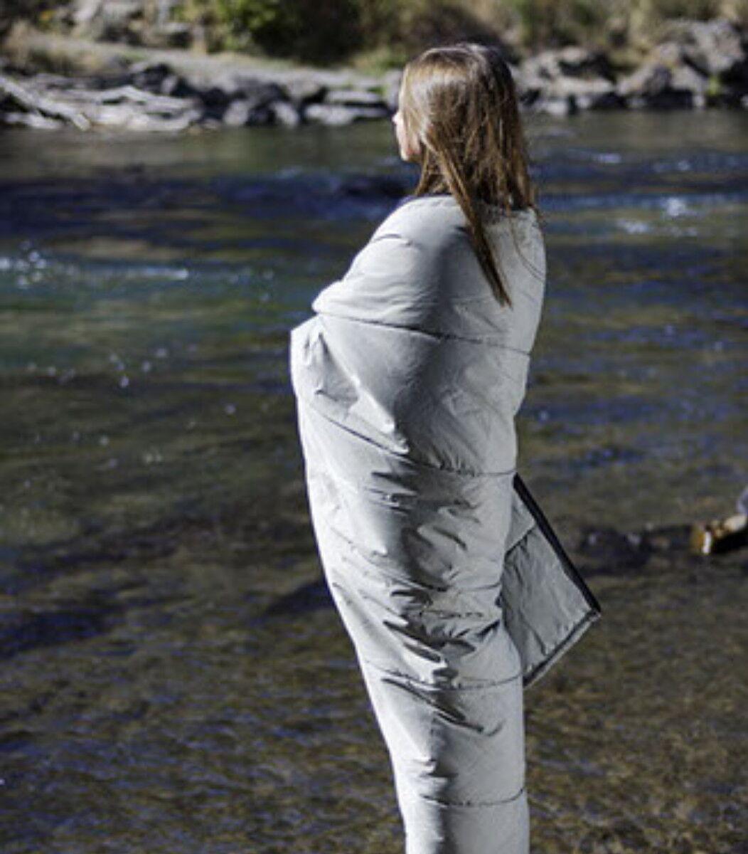 Car Camping Quilt  Sleeping Bag Portland Woolen Mills Wool USA Durable 28x90  discount promotions