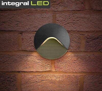Garden Outside Surface Mounted 2W LED Garden Brick Wall Light IP44 Patio Lamp
