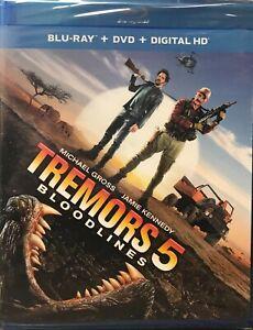 Tremors-5-Bloodlines-Blu-ray-DVD-2015-2-Disc-Set-Digital-Copy-NEW-SEALED