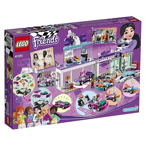 41351 LEGO Friends Creative Tuning Shop 413 Pieces Age 6+ New Release For 2018
