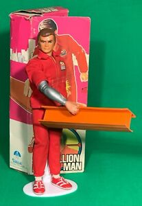 All Original 1977 Kenner Six Million Dollar Man - Boxed with Girder and Bionics!
