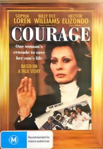 B10-BRAND-NEW-SEALED-Courage-DVD-1986-Sophia-Loren-Billy-Dee-Williams