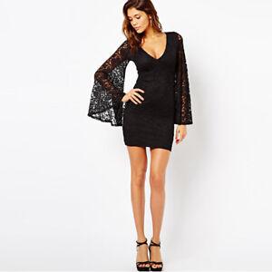 9385e4dc1c74 Caricamento dell immagine in corso Elegante-raffinato-abito-vestito-donna- tubino-corto-nero-