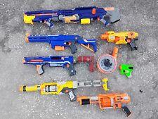lot 7 Nerf blaster guns Long Shot Retaliator Rampage Spectre FuryFire Barricade