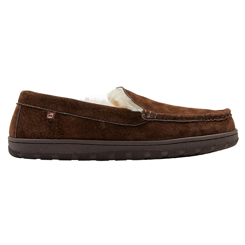 Lamo Men's Harrison Moc Slippers (EM1913) Chocolate US Sizes