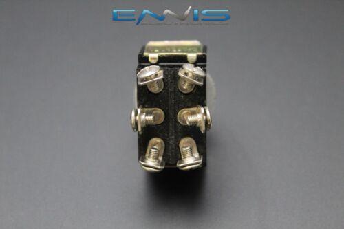 2 PCS TOGGLE SWITCH DPDT CENTER OFF TOGGLE 10 AMP 250V 15 AMP 125V 6 PIN EC-1515