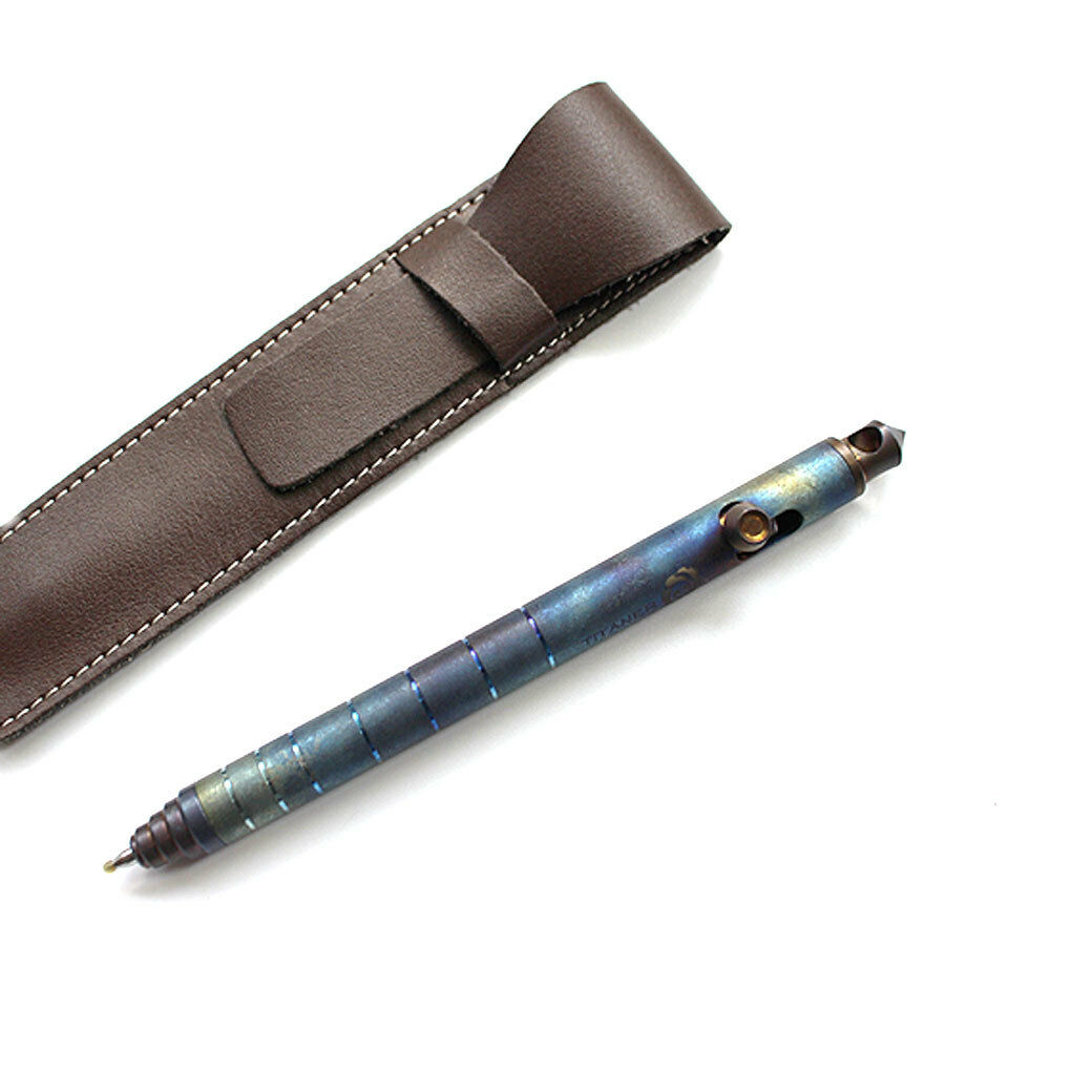 TiTANER Titanium Ti Self Defense Pull Bolt Typ Tactical Pen  EDC Survival P-08LF  great offers