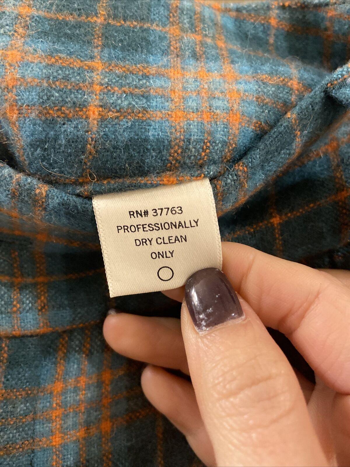Penguin Wool Green Plaid Pants Sz 0 (item 9.8) - image 9