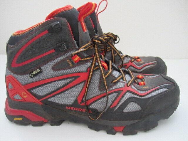 fc4fd6ae3c Mens size 9 Merrell Capra Mid Sport GTX Gore-Tex hiking boots J65023