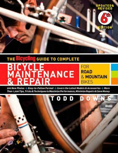 The Bicycling Guide To Complete Bicycle Maintenance And Repair For Road And... - $22.45