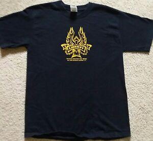 6e1c25dec Liberty Men s Size M t-shirt Black Background With Yellow Graphics ...