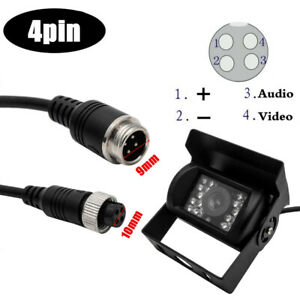 12V-24V-4Pin-Plug-Front-View-Backup-Reversing-Parking-Camera-for-Car-Truck-Lorry