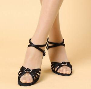 New Women/'s Girl /'s Ladies Ballroom Latin Tango Party Dance Shoes high quality
