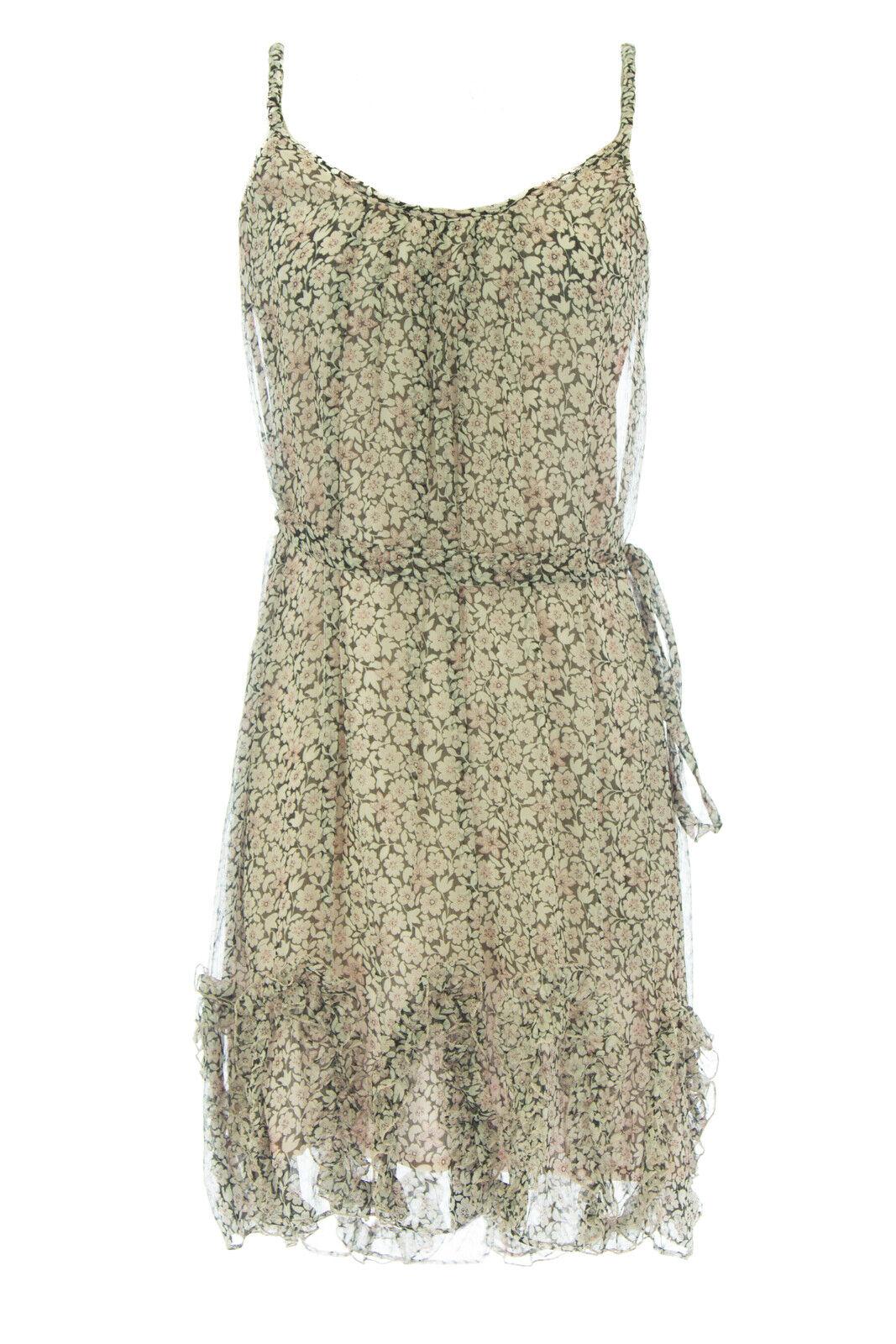 ANNE LEMAN Woherren Floral Blossom Tie-Waist Carnation Dress SP92DR11  NEW