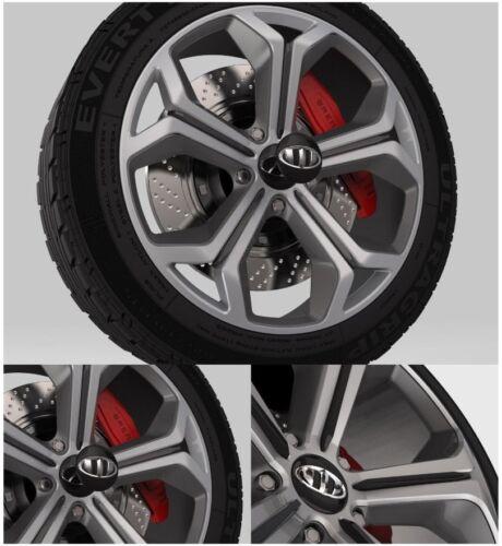 Brenthon Hood Trunk Horn 18inch Wheel Cap Full Set 8PC For 2018 2019 Kia Stinger