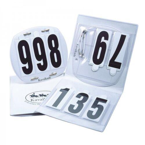oder vierstellig Startnummern H /& H Celle Kavalkade Kopfnummern im Etui drei