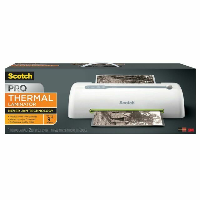 3m Scotch Thermal Laminator Pro 2 Roller System TL906