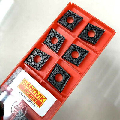 Sandvik 10Pcs CNMG120404 PM CNMG431-PM 4215 CNC Carbide Turning Inserts