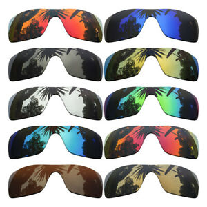 Polarized-Replacement-Lenses-for-Oakley-Batwolf-Sunglasses-Multiple-Colors