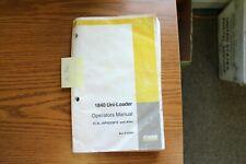 Case 1840 Uni Loader Operators Manual