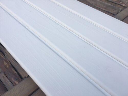 17,95€// m² Rundkante Fichte Profilholz Profilbretter weiß deckend behandelt