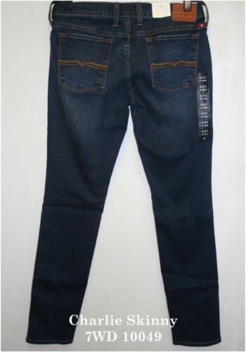 """Lucky Brand,Women/'s Denim Jeans,CHARLIE SKINNY,Low Rise,/""""SLIM FIT/"""".NEW WITH TAG"""