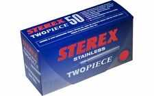 Size 5 Sterex Stainless Two Piece Needles box of 50 F5's For Electrolysis