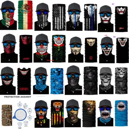 Multi-Purpose Bandana Face Neck Warmer Dust Scarf Snood Scarf Hair Band Headwear